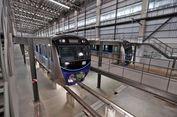 Empat Rangkaian MRT Tiba di Jakarta