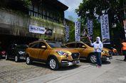 Datsun Cross Digeber di Yogyakarta, dari Pegunungan sampai Pantai