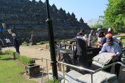 Terdampak Abu Merapi, Stupa Candi Borobudur Belum Perlu Ditutup