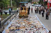 Miras Senilai Rp 2 Miliar Dimusnahkan Mapolresta Barelang Batam
