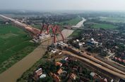 Hari Ini, Pelengkung Jembatan Kalikuto Akan Tersambung