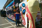 Semarak Pilkad   a, TPS di Bandung Gunakan Dekorasi Piala Dunia