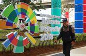 Kendaraan Khusus Asian Games Dipasangi Stiker agar Bebas Ganjil-Genap