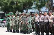 639 Personel TNI/Polri Disiagakan Amankan Pilkada Susulan di Paniai