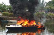 'Speedboat' Milik Setda Raja Ampat Terbakar, Dua Orang Terluka