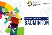 Jadwal Bulu Tangkis Asian Games, Tim Putra-Putri Indonesia Tampil
