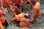 Tim SAR Kembali Temukan 1 Korban Longsor akibat Gempa di Lombok Utara
