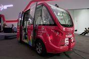 Navya, Mobil Otonomos Pertama Beroperasi di Indonesia