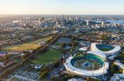 Unik, Stadion Ini Dirancang di Atas Stasiun