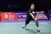 Anthony Ginting Lolos ke Babak Kedua Malaysia Masters 2019