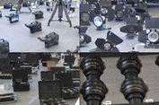Polisi Amankan Kamera dan Lensa Curian Senilai Rp 44 Miliar