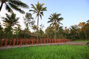 Melihat Ratusan Patung Gandrung di Jiwa Jawa Resort Banyuwangi