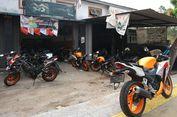 Bengkel Tempat 'Nongkrong' Loyalis CBR di Duren Sawit