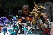 Pameran Produk Santri, dari Gundam hingga Miniatur Kapal Berbahan Limbah Bambu