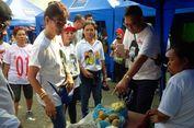 Relawan Blusukan ke Pasar Tradisional Kampanyekan Jokowi-Ma'ruf