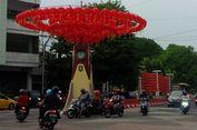 Jelang Imlek, Ribuan Lampion Hiasi Kota Solo