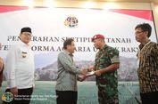 Kopassus Terima 100 Hektar Tanah Eks HGU di Pandeglang