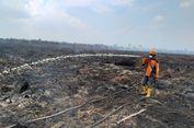 Petugas Gabungan Matikan Sisa Api Kebakaran Lahan Seluas 18 Hektar di Dumai