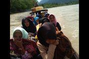 Kisah 13 Siswa Madrasah Aceh Arungi Sungai demi Ikut Simulasi Ujian