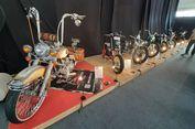 Kontes Motor Custom Ramaikan Telkomsel IIMS 2019