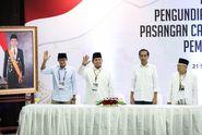 Survei SMRC: Elektabilitas Jokowi-Ma'ruf 57,6 Persen, Prabowo-Sandiaga 31,8 Persen