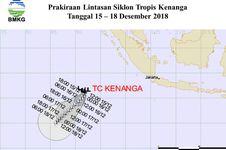 Siklon Tropis Kenanga Muncul, Ini Dampaknya untuk Wilayah Indonesia