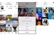 Fitur Baru Instagram Bantu Sembunyikan Foto Memalukan
