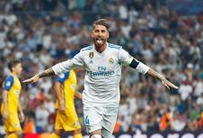 Ramos Harus Gunakan Painkiller saat Madrid Lawan Gremio