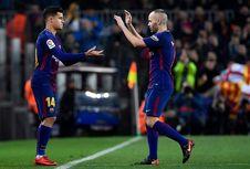 Coutinho Menolak Dibandingkan dengan Iniesta