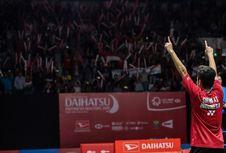 Kalahkan Wakil Jepang, Anthony Ginting Juara Indonesia Masters 2018