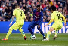 Diisukan ke Liverpool, Dembele Masih Diberi Waktu di Barcelona