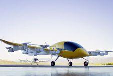 Taksi Terbang 'Cora' yang Didukung Pendiri Google Mengudara