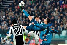 Jadwal Siaran Liga Champions, Malam Ini Real Madrid Vs Juventus