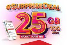 Khusus Hari Ini, Paket Data 25 GB Telkomsel Seharga Rp 100.000