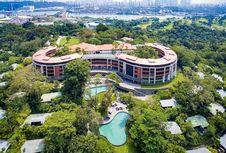 Hotel di Pulau Sentosa, Lokasi Pertemuan Donald Trump-Kim Jong Un