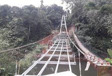 Pembangunan Jembatan 'Indiana Jones' Sudah 65 Persen, 16 Agustus Akan Diresmikan