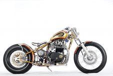 Yamaha XS 650 'Brong-brong' Sang Jawara Modifikasi