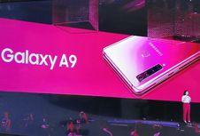 Galaxy A9 Resmi Meluncur, Ponsel 4 Kamera Belakang Pertama di Dunia
