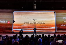 Huawei Mate 20 X Resmi Meluncur, Ponsel Gaming Berlayar 7 Inci