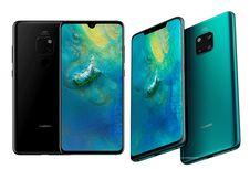 Bocoran Terbaru Huawei Mate 30, Masih Ada 'Poni' di Layar