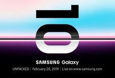 Lembaran Dokumen Ungkap Spesifikasi Lengkap Tiga Versi Galaxy S10