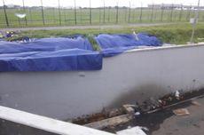 Sepekan Setelah Tembok Ambrol, Jalan Perimeter Selatan Masih Ditutup