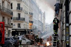Ledakan Kuat Terjadi di Toko Roti Paris, 2 Pemadam Kebakaran Tewas
