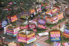 Karangan Bunga untuk Ahok-Djarot Sudah Mencapai 4.200