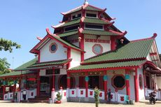 Bangunan Menyerupai 'Klenteng' di Purbalingga Ini Sebenarnya Masjid