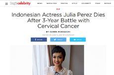 Kematian Julia Perez Diberitakan Media Hiburan Amerika