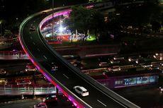 Lokasi Strategis hingga Lampu LED Jadi Keunikan Simpang Susun Semanggi