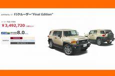 Edisi Perpisahan FJ Cruiser untuk Pasar Jepang