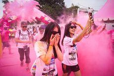 Dukung Gaya Hidup Sehat, CIMB Niaga Gelar The Color Run 2017