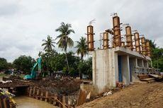 Musim Hujan, Pembangunan Daerah Irigasi di Indramayu Terus Berjalan